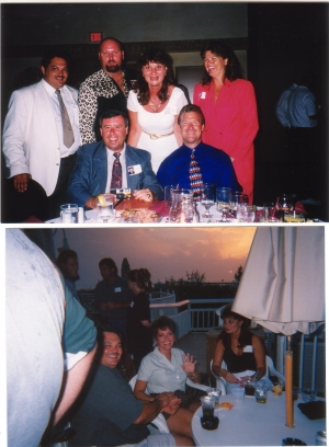 Top Photo, Top Row: Chuck Morris, JoGene Holaway, Tawanna Prescott, Ann Hoffman. Bottom Row: Ed Beck and Tim Fell.......