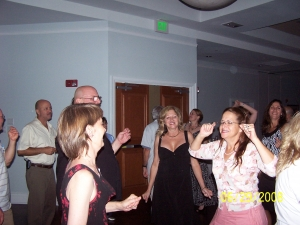 Billy McNeese, Bubba Pilkington (NHS'78), Ann Gargagliano, Shell Lanius, Kathy Fox, Liz Chapman (Bustin' a Move), Deb