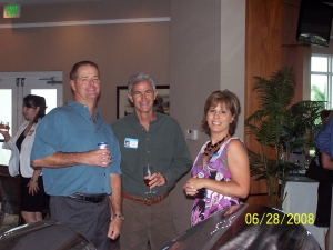 Tom Bogan (Kathy Waters husband), Todd Tateo, and Kathy Waters