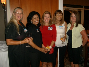 Peggy Hunter, Barbara Osceola, Debbie Poole, Kathy Macaluso, and Donna Palmer