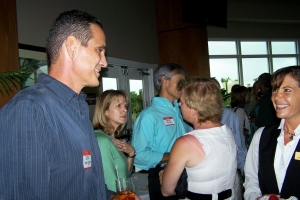 Jeff Snellgross, Sandy Patterson, Robin Goucher