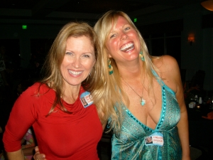 Debbie Poole and Carolyn Karpinski