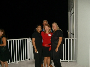 Barbara Osceola, Debbie Poole, Jim Widner, Peggy Hunter
