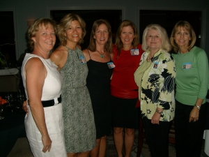 Robin Goucher, Donna Helton, Bee Ryan, Debbie Poole, Paula Thomas, Sandy Patterson